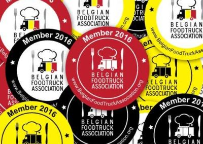 Les Saveurs du Soleil member of the association of Food Trucks in Belgium